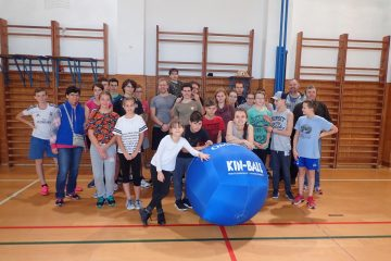 Zlin Ball 2017 turnaj v Kin-ballu