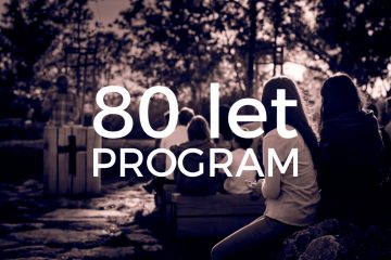 Program 80. výročí založení sboru