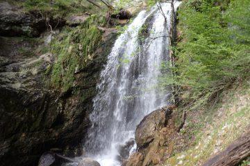 Duhové vodopády v Rakousku