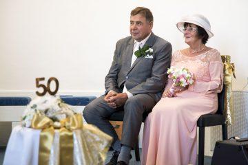 Zlatá svatba manželů Kolínkových